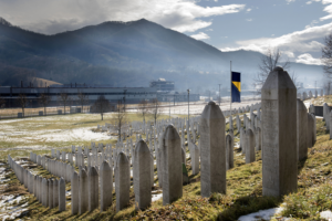 Srebrenica-Potočari Memorial Centre and Cemetery FEB2017